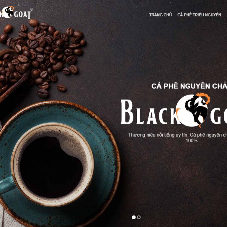 Mẫu Web Công ty coffee